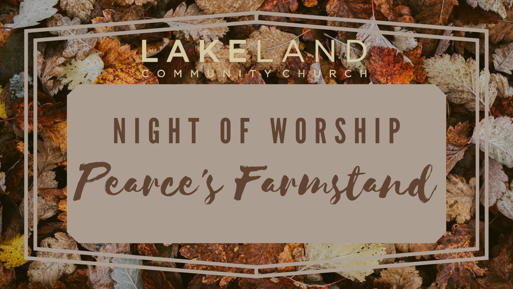 Night of Worship FB